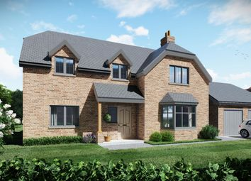 Thumbnail 4 bed detached house for sale in Plot 4, Highfields, Louth