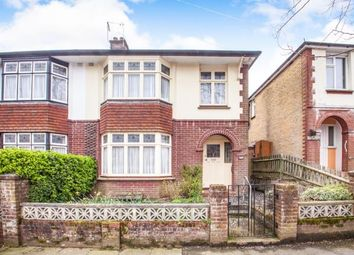 Thumbnail 3 bed semi-detached house for sale in Lewisham Road, River, Dover, Kent
