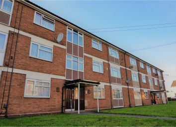 Thumbnail 3 bed flat for sale in Cobden Close, Tipton