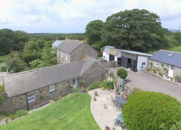 Thumbnail 3 bed detached house for sale in Chyenhal, Buryas Bridge, Penzance, Cornwall.