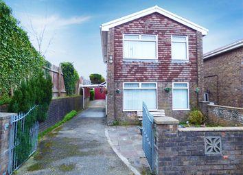 Thumbnail 3 bed detached house for sale in Ton Rhosyn, Brackla, Bridgend, Mid Glamorgan