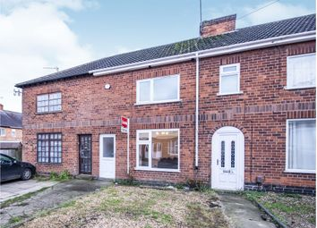 Thumbnail 2 bed terraced house for sale in Chatsworth Avenue, Wigston