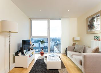 Thumbnail 1 bedroom flat to rent in Denison House, Lanterns Court, Canary Wharf