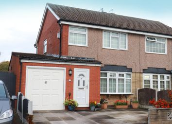 Thumbnail 3 bed semi-detached house for sale in Cadwell Road, Lydiate, Liverpool