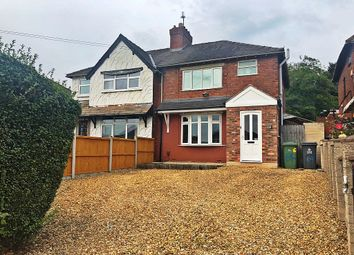 Thumbnail 3 bed semi-detached house for sale in Chestnut Road, Walsall, West Midlands