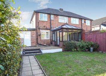 Thumbnail 3 bed semi-detached house for sale in Maxholm Road, Streetly, Sutton Coldfield
