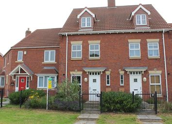 Thumbnail 3 bed terraced house to rent in 57 Rivelin Park, Kingswood, Hull, 3Gp. 3 Bedroom, 3 Story Town Home.