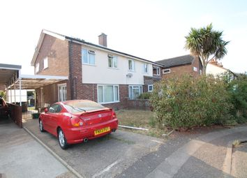 Thumbnail 3 bed semi-detached house for sale in Old Kirton Road, Trimley St Martin