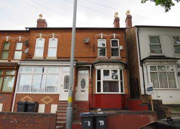 Thumbnail 3 bedroom terraced house for sale in Mansel Road, Small Heath, Birmingham
