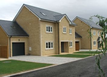 Thumbnail 5 bed detached house for sale in Quemerford, Calne