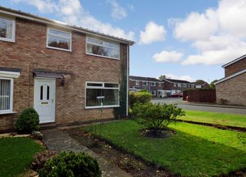 Thumbnail 3 bed terraced house for sale in Garforth Close, Cramlington