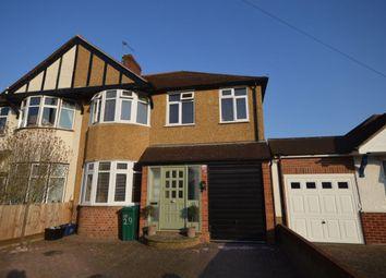 Thumbnail 4 bed semi-detached house for sale in Pembridge Avenue, Whitton, Twickenham