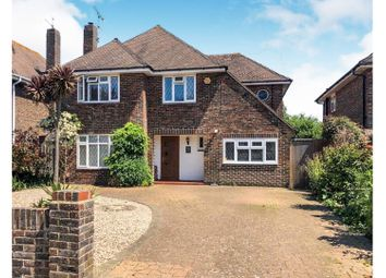 Thumbnail 4 bed detached house for sale in Withdean Avenue, Worthing