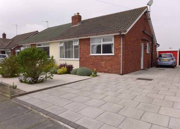 Thumbnail Semi-detached bungalow for sale in Kelverdale Road, Thornton-Cleveleys