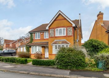 Thumbnail 4 bed detached house for sale in Harebell Drive, Thatcham, Berkshire