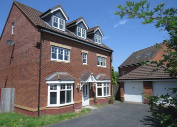 Thumbnail 5 bed detached house for sale in Wagstaff Way, Marston Green, Birmingham