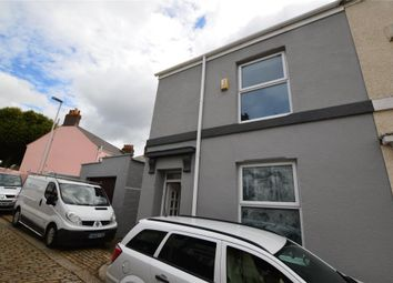 Thumbnail 3 bed terraced house for sale in Wesley Place, Stoke, Plymouth, Devon