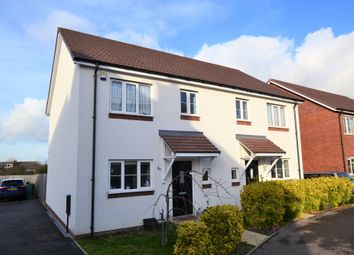 Thumbnail 3 bed semi-detached house for sale in Messenger Way, Cheltenham