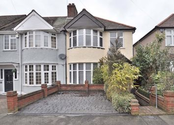 Thumbnail 3 bed semi-detached house for sale in Greenway, Chislehurst, Kent