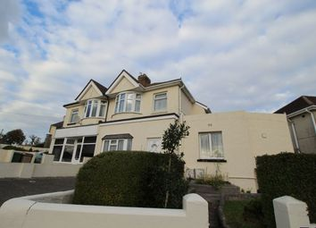 Thumbnail 1 bed flat to rent in Higher Efford Road, Plymouth
