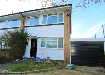 Thumbnail 3 bed property for sale in Burn Close, Addlestone