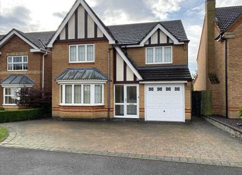 Thumbnail 4 bed detached house for sale in Haverholme Park, Sleaford