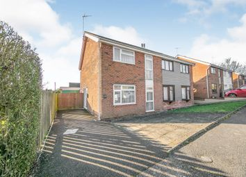 Thumbnail 3 bed semi-detached house for sale in Sawston Close, Ipswich