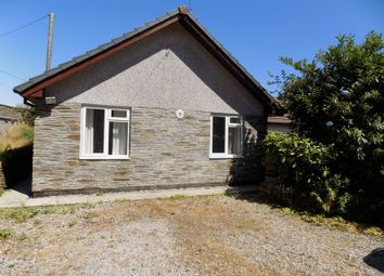 Thumbnail 3 bed detached bungalow for sale in Trethurgy, St. Austell