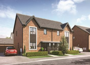 "Thumbnail 3 bed property for sale in ""The Hartley"" at The Furlong, Downs Road, Standlake, Witney"