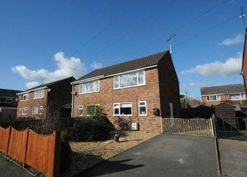 Thumbnail 2 bed semi-detached house to rent in Hallam Road, Uttoxeter