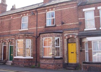 Thumbnail 3 bed terraced house to rent in Bouverie Street, Chester