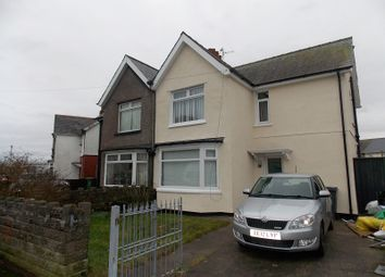Thumbnail 3 bedroom semi-detached house to rent in Llewellyn Avenue, Ely, Cardiff.