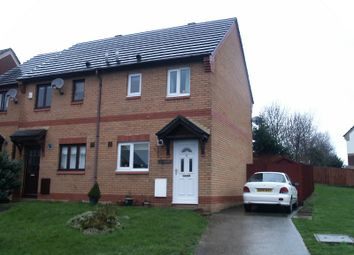 Thumbnail 2 bed property to rent in St. Davids Close, Brackla, Bridgend