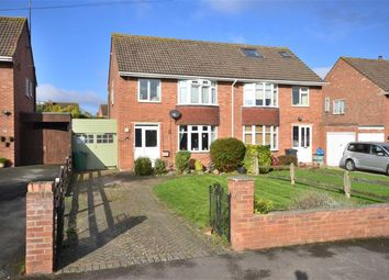 Thumbnail 3 bed semi-detached house for sale in Lynmouth Road, Hucclecote, Gloucester