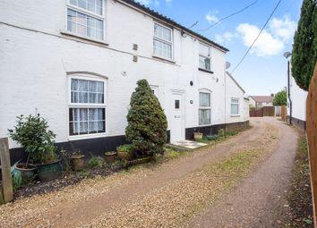 Thumbnail 2 bedroom end terrace house for sale in High Street, Fincham, King's Lynn
