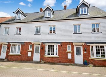 Thumbnail 4 bedroom terraced house for sale in Cromwell Road, Flitch Green, Dunmow