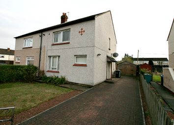Thumbnail 1 bed semi-detached house for sale in Sunart Street, Wishaw