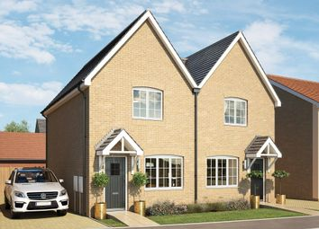 Thumbnail 2 bed semi-detached house for sale in Avondale, Mill Lane, Cressing Essex