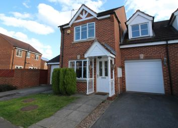 Thumbnail 3 bed semi-detached house for sale in Lakeside Park, Normanton
