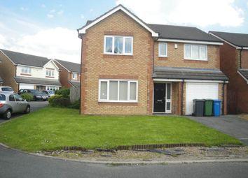 Thumbnail 4 bed property to rent in Rushton Close, Burtonwood, Warrington