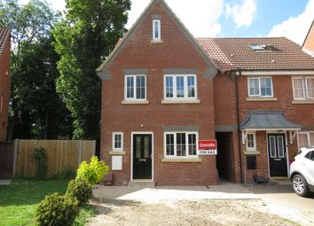 Thumbnail 4 bedroom end terrace house for sale in Moore Crescent, Houghton Regis, Dunstable