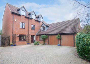 Thumbnail 6 bed detached house for sale in Paxton Crescent, Shenley Lodge, Milton Keynes