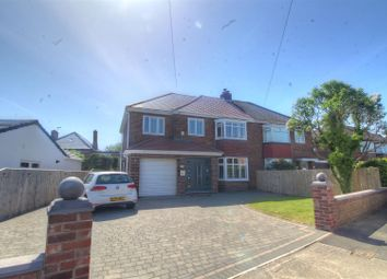 Thumbnail 4 bed semi-detached house for sale in Hillcrest, Middle Herrington, Sunderland