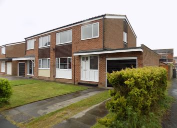 Thumbnail 3 bed semi-detached house to rent in The Oaklands, Middleton One Row, Darlington