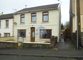 Thumbnail 3 bed semi-detached house for sale in Brookland Terrace, Nantymoel, Bridgend.