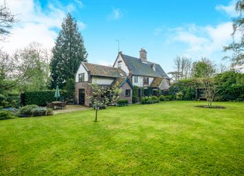 Thumbnail 4 bed semi-detached house for sale in Church Lane, Thwaite St Mary, Bungay