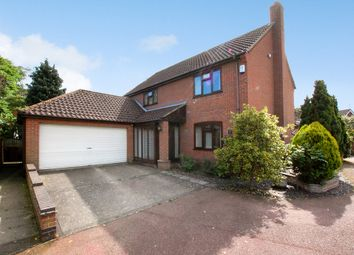 Thumbnail 4 bed detached house for sale in The Meadows, Thurton, Norwich