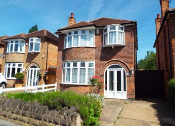 Thumbnail 3 bed detached house for sale in Hambledon Drive, Wollaton, Nottingham, Nottinghamshire