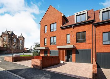 Thumbnail 4 bed terraced house for sale in Booth Square, Barnes Village, Cheadle, Cheshire