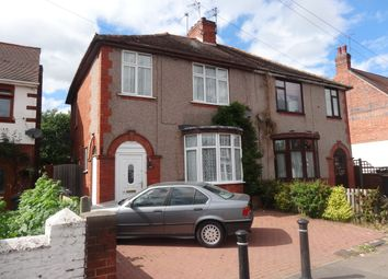 Thumbnail 3 bed semi-detached house to rent in Manor Court Road, Nuneaton